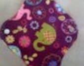 1 Purple Elephant  Cloth Pad