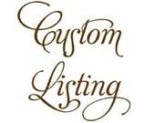 Custom Listing for aurorababy