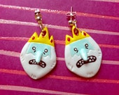 Ice King Adventure Time Earrings