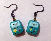 Adventure Time BMO/Beemo Earrings
