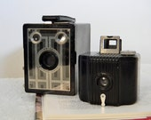 Vintage Kodak Camera Baby Brownie and Six 20 Brownie Jr