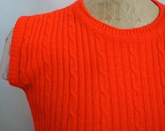 60's Cherry Poppin' British Vogue Sweater *On Sale!