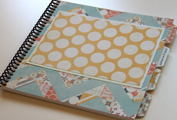 Pregnancy Journal - Gender Neutral Cover Design - CHEVRON