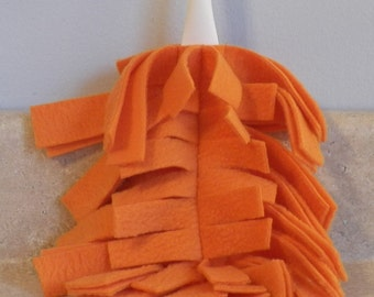 Fleece Swiffer Duster Refill- ORANGE- 27002