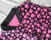 Pink Skulls - Women's Cycling / Tank Top - XL