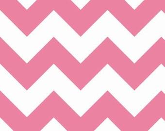 Chevron Hot Pink Large Chevron for Riley Blake, 1/2 yard