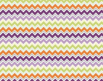 Dress Up Days Chevron Grape by Doohikey Designs for Riley Blake, 1/2 yard