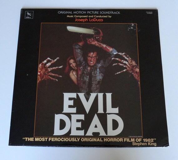"Rare ""Evil Dead"" Vinyl Soundtrack (1984) - Sealed"