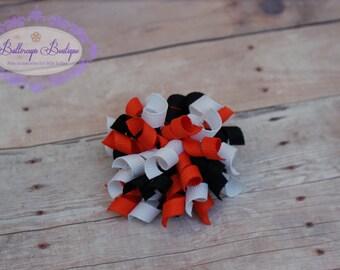 Halloween hair clip, halloween korker, mini korker