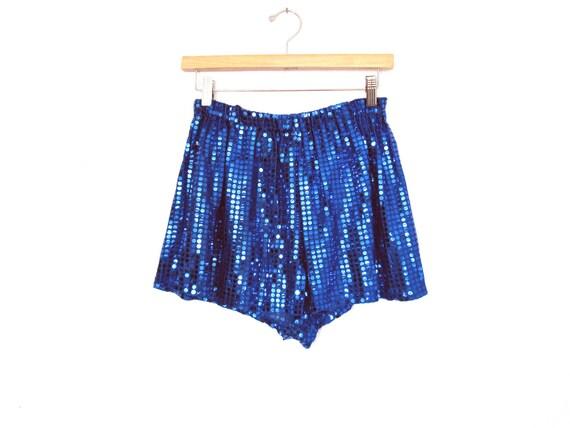 80's Sequin tap shorts size - M/L