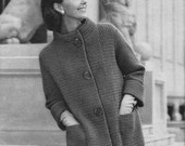 Vintage Knit Jacket Pattern