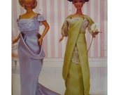 """Downton Abbey  Doll Clothes Pattern, Circa 1912 Evening Gowns Delinator Girls, Butterick No. 370 UNCUT Fits 11.5""""(29cm)   Dolls"""