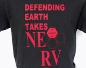 Neon Genesis Evangelion T-Shirt: Defending Earth takes NERV