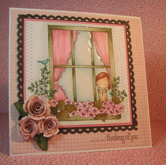 Greeting Card:  Thinking of You