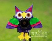 Lens Bling - Pet Purple Owl