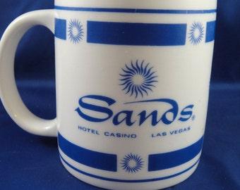 Sands Hotel and Casino Las Vegas Souvenir Coffee Cup