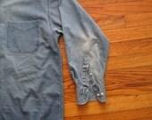 mens vintage GAP denim shirt
