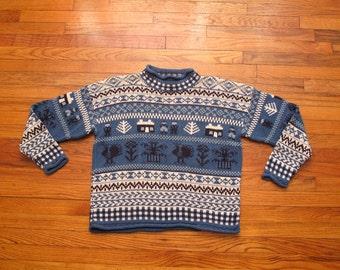 mens vintage eddie bauer sweater