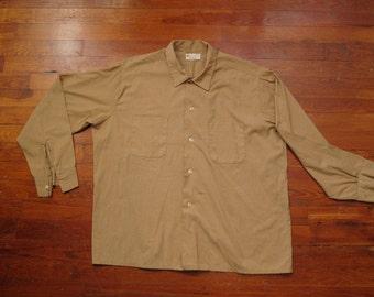 mens vintage donlin work shirt