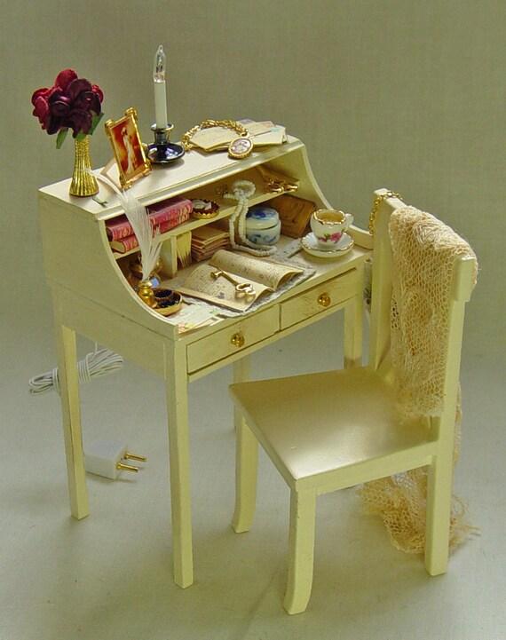 OOAK Ladies Filled Writing Desk