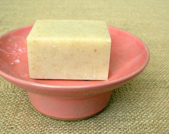 Soap Dish- Peach Pink