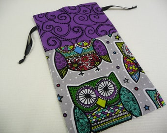 CORD BAG - Enchanted Owls