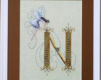 N is for Nina from The Letters Collection of Nora Corbett - Mirabilia