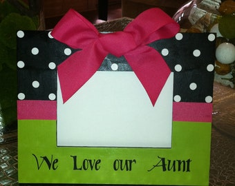 Picture Frame for Auntie, Aunt, Grammy, Granny 4x6