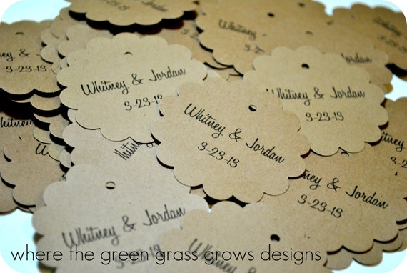 Rustic Wedding Tags