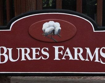Custom Farm Sign seasonal address sign home decor housewares outdoor sign wall hanging custom sign name wall decor farm sign personal sign