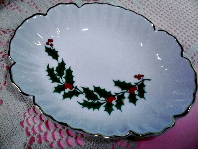Vintage Soap Dish Christmas Home Decor Holiday Decorating | Haute ...