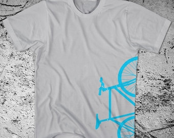 Fixie Bike T-Shirt Fixed Gear Bicycle  - ON SALE!