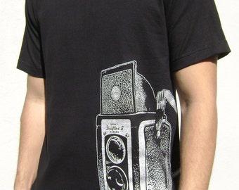Vintage Camera Shirt Twin Lens  - ON SALE!