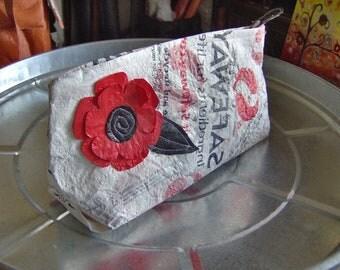 Fused plastic zip bag