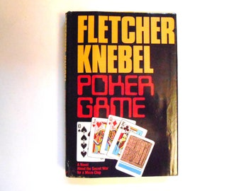 Poker Game, a Vintage Book