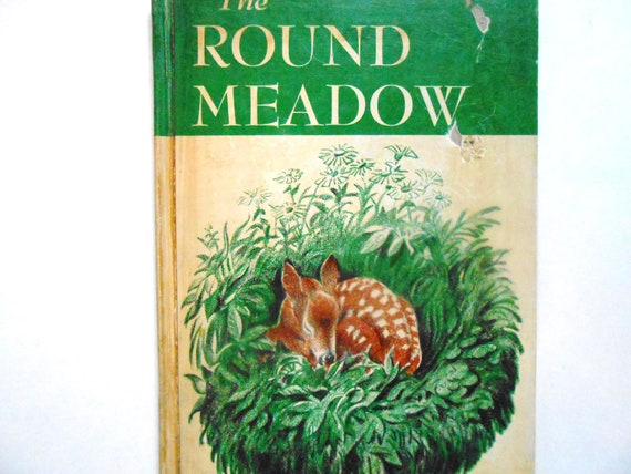 The Round Meadow, a Vintage Children's Book Illustrated by Kurt Wiese