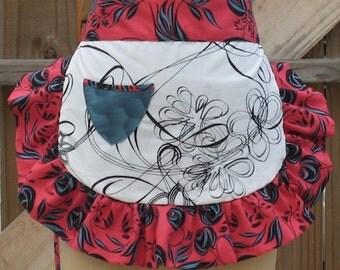 Reversible waist apron pattern