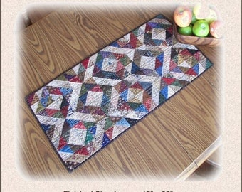 My Favorite Tablerunner PDF pattern reproduction traditional