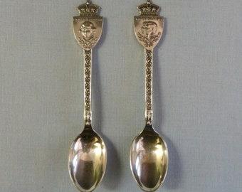Vintage Royalty Spoons 1937