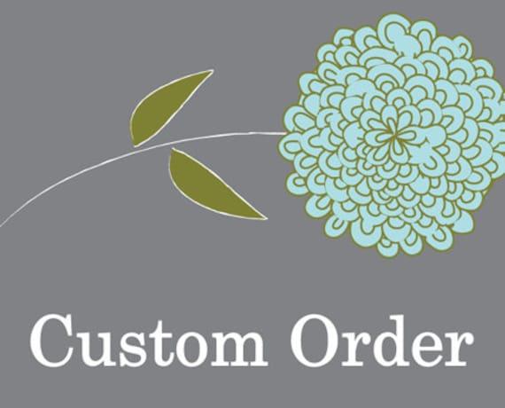 Custom order for Ashley L.