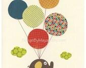 Nursery art print, play r...