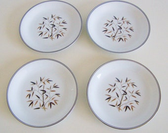 Set of Four (4) Vintage Noritake Bread and Butter Plates