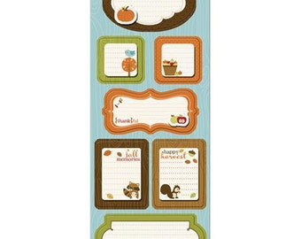 Give Thanks Sticker Stackers from Apple Cider Collection by Imaginisce