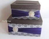 Wedding Card Box Envelope Holder Custom Card Box Couture Card Holder