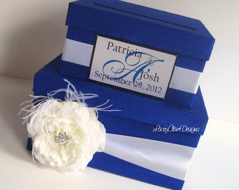 Wedding Card Box Custom Made - Money Card Holder, Gift Card Box, Unique Card Box