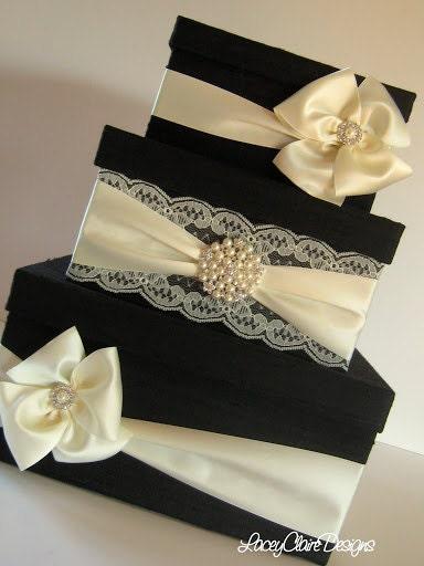 Wedding Gift Boxes Singapore : Card Box for wedding Money Box Gift Card Box Holder Custom