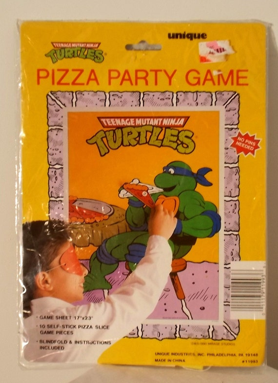 Teenage Mutant Ninja Turtle Pizza Party Game by luvredford ...
