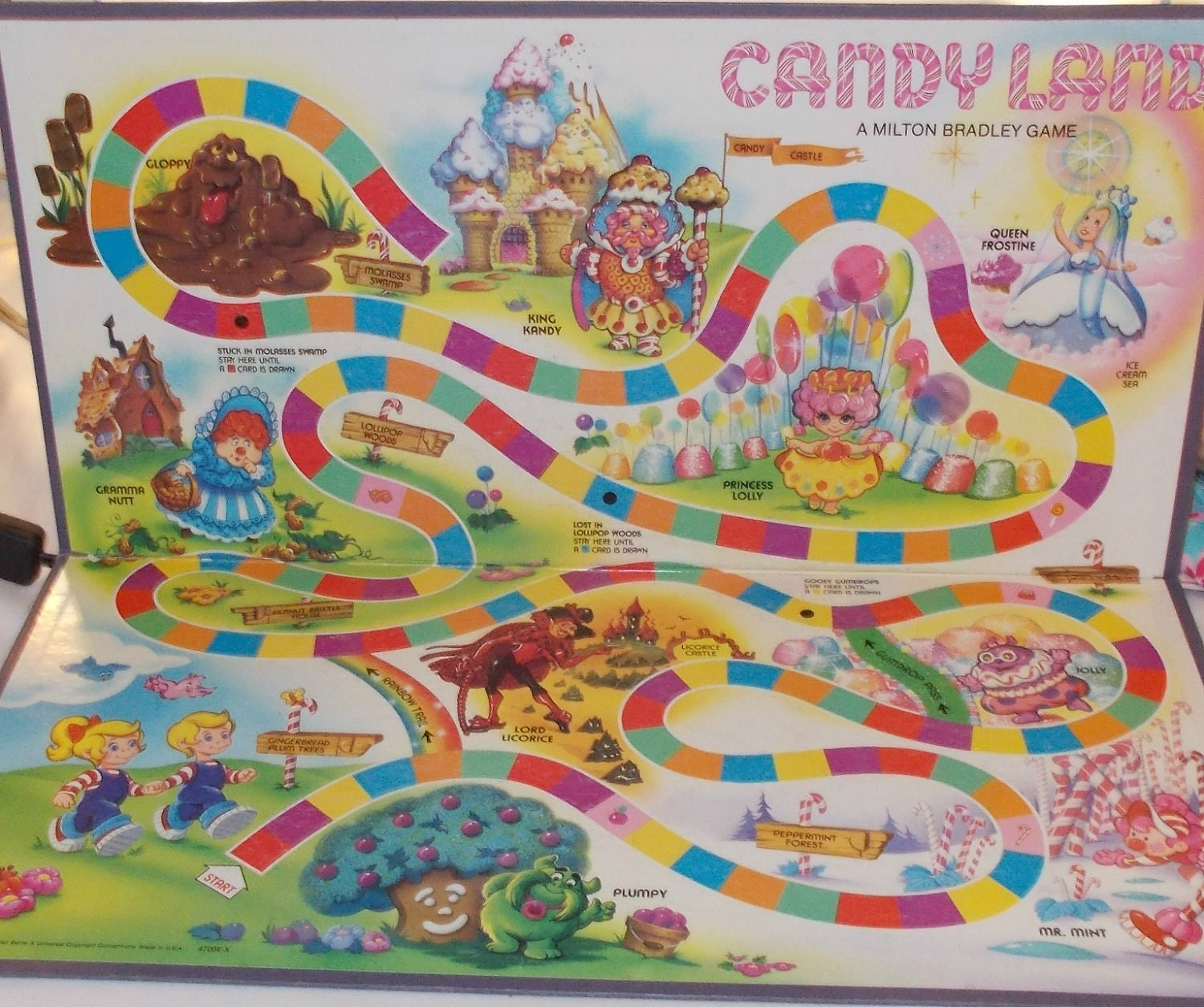 Candyland Gameboard! This was the version I had.