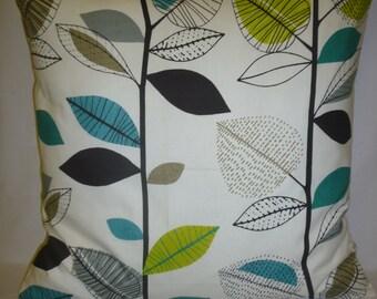 """BIG Teal Green 22x22"""" Pillow Designer Cotton Cushion Cover Pillowcase Euro Sham Slip"""