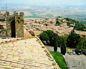 View From Castello, Montalcino